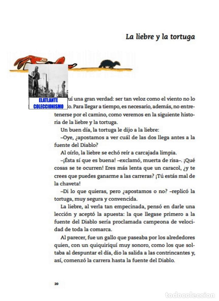 Libros: EL LIBRO DE LAS FÁBULAS - ADAPTACIÓN DE CONCHA CARDEÑOSO - ILUSTRACIONES DE EMILIO URBERUAGA - 18 € - Foto 18 - 234700290