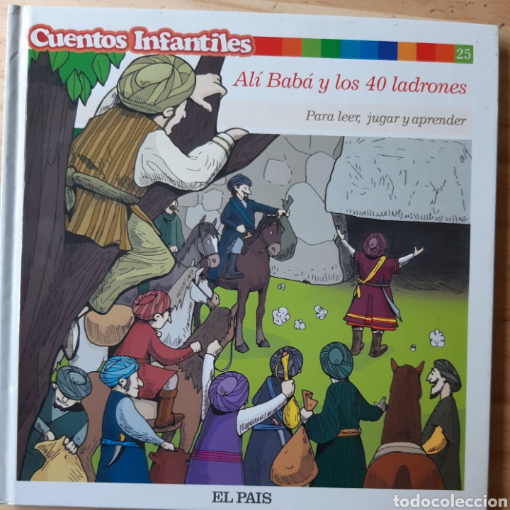 ALI BABA NÚMERO 25 COLECCIÓN EL PAÍS (Libros Nuevos - Literatura Infantil y Juvenil - Cuentos infantiles)