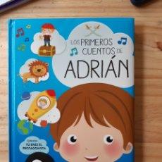 Libros: LOS PRIMEROS CUENTOS DE ADRIÁN,TÚ ERES EL PROTAGONISTA. Lote 235174010