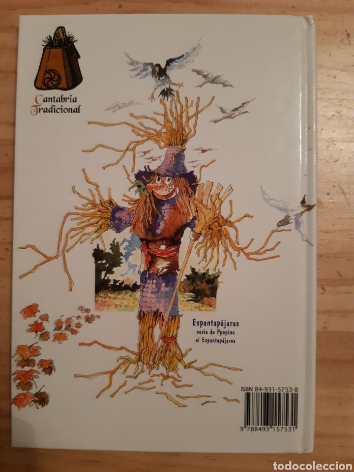 Libros: Los sueños de Ppepino el espantapájaros no 2,cuentos tradicionales Cantabria, colección Escanillu. - Foto 2 - 235176870