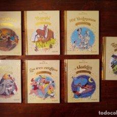 Livres: LOTE 6 CUENTOS DE ORO DISNEY (BAMBI, DUMBO, ALADDIN, TOY STORY...) - PRECINTADOS. Lote 235558710