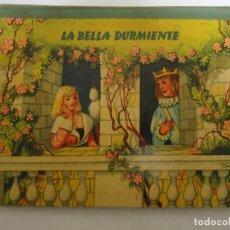 Libros: ANTIGUO CUENTO DE LA BELLA DURMIENTE DEL AÑO 1960 CON 8 DIORAMAS. INGLES PERO EN CASTELLANO. RARO. Lote 235700555