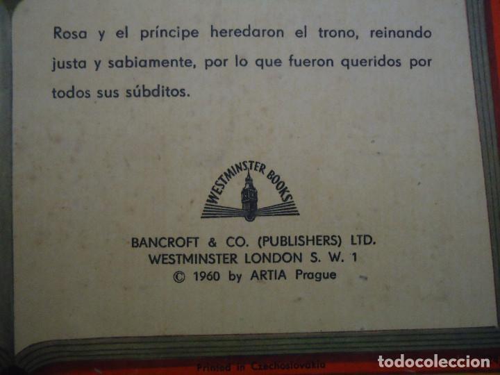 Libros: ANTIGUO CUENTO DE LA BELLA DURMIENTE DEL AÑO 1960 CON 8 DIORAMAS. INGLES PERO EN CASTELLANO. RARO - Foto 6 - 235700555
