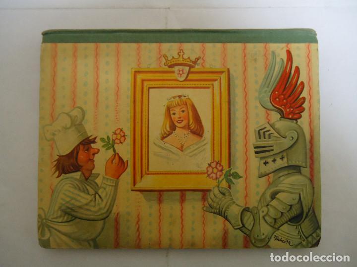 Libros: ANTIGUO CUENTO DE LA BELLA DURMIENTE DEL AÑO 1960 CON 8 DIORAMAS. INGLES PERO EN CASTELLANO. RARO - Foto 7 - 235700555