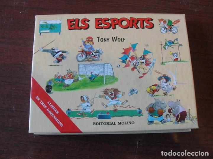 ELS ESPORTS / MOLINO - EN 3 TRES DIMENSIONS POP UP - TONY WOLF - SENSE US - ENVIAMENT GRATIS (Libros Nuevos - Literatura Infantil y Juvenil - Cuentos infantiles)