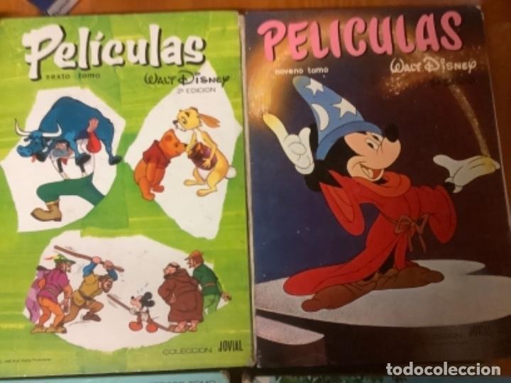 LOTE 8 LIBROS PELICULAS DE WALT DISNEY (Libros Nuevos - Literatura Infantil y Juvenil - Cuentos infantiles)