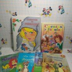 Libros: ENVIÓ 8 € CERTIFICADO. 6 CUENTOS INFANTILES. Lote 240233620