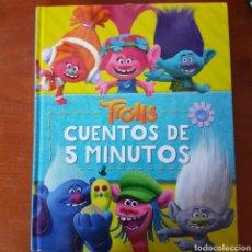 Libros: CUENTOS EN 5 MINUTOS TROLLS. Lote 241031380