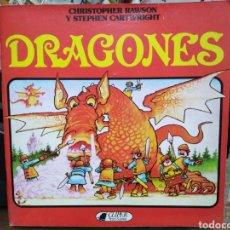Livres: DRAGONES-CHRISTOPHER RAWSON-EDITA CLIPER PLAZA&JANES 1981. Lote 241635895