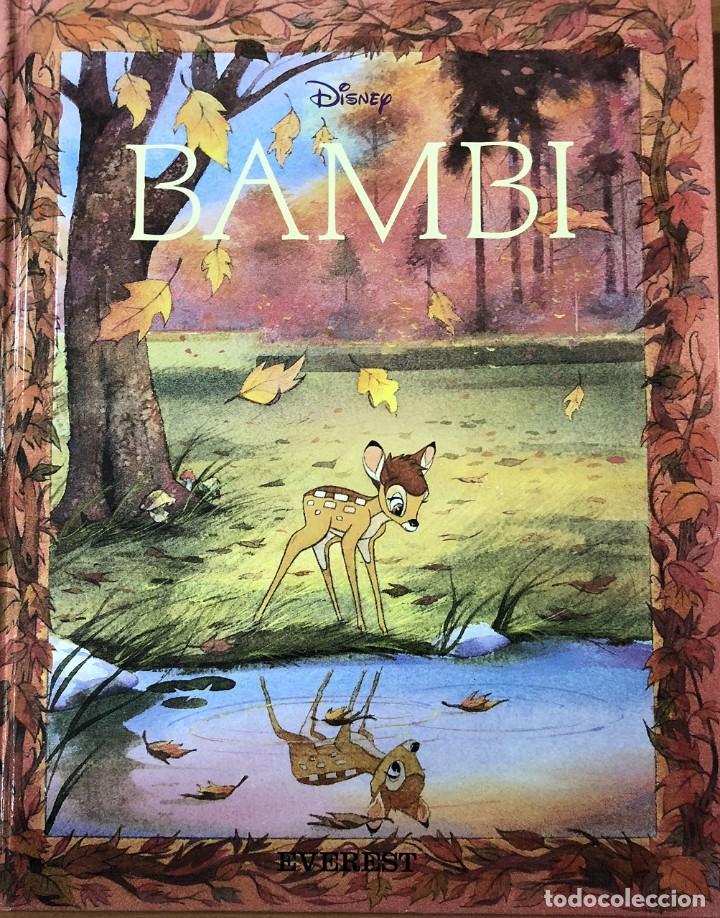 BAMBI. CLÁSICOS ILUSTRADOS DISNEY. EDITORIAL EVEREST (Libros Nuevos - Literatura Infantil y Juvenil - Cuentos infantiles)