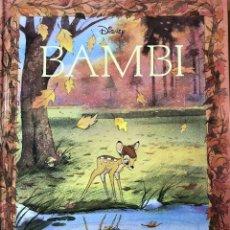 Libros: BAMBI. CLÁSICOS ILUSTRADOS DISNEY. EDITORIAL EVEREST. Lote 259904855