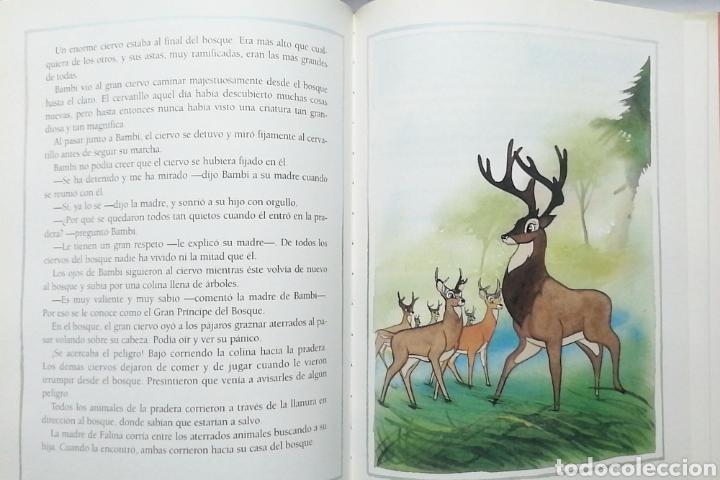 Libros: BAMBI. CLÁSICOS ILUSTRADOS DISNEY. EDITORIAL EVEREST - Foto 3 - 259904855
