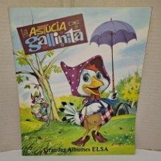 Livres: LA ASTUCIA DE LA GALLINITA. GRANDES ÁLBUMES ELSA. NUEVO. IMPECABLE. AÑOS 80.EDIT VASCO AMERICANA.EVA. Lote 243274160