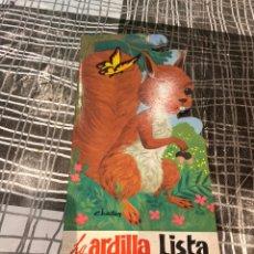 Libros: CUENTO TROQUELADO LA ARDILLA LISTA . VER FOTOS. Lote 243619120