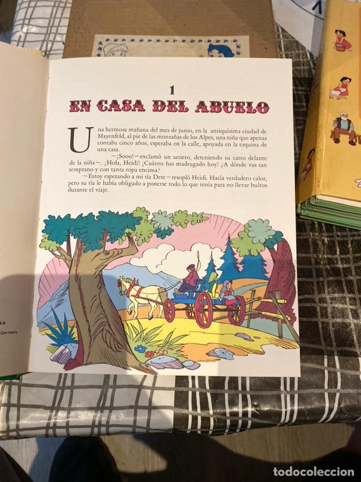 Libros: HEIDI DE JUANA SPYRI VERSION COMPLETA DE LA SERIE DE TELEVISION. AÑO 1976.NUEVO EN SU CAJA - Foto 8 - 243636545