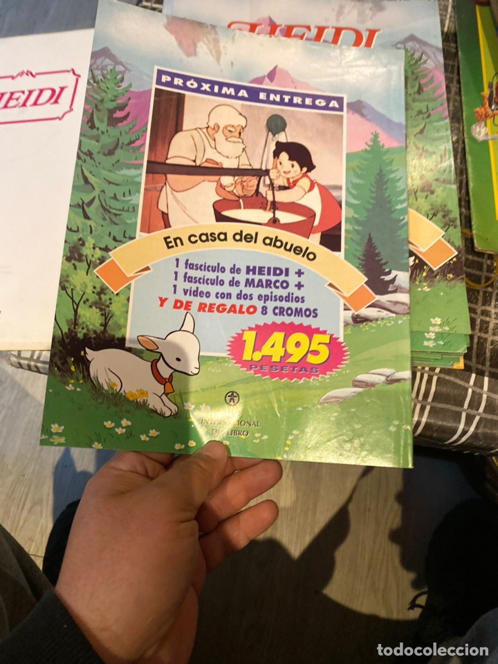 Libros: COLECCIONABLE COMPLETO DE HEIDI / ** 35 FASCICULOS + TAPAS / CLUB INTERNACIONAL DEL LIBRO - 1995 - Foto 11 - 243640600