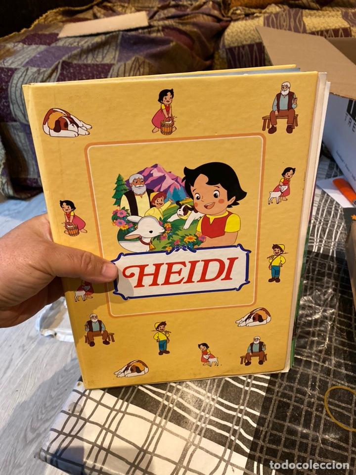 COLECCIONABLE COMPLETO DE HEIDI / ** 35 FASCICULOS + TAPAS / CLUB INTERNACIONAL DEL LIBRO - 1995 (Libros Nuevos - Literatura Infantil y Juvenil - Cuentos infantiles)