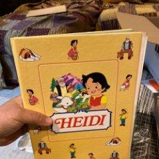 Libros: COLECCIONABLE COMPLETO DE HEIDI / ** 35 FASCICULOS + TAPAS / CLUB INTERNACIONAL DEL LIBRO - 1995. Lote 243640600