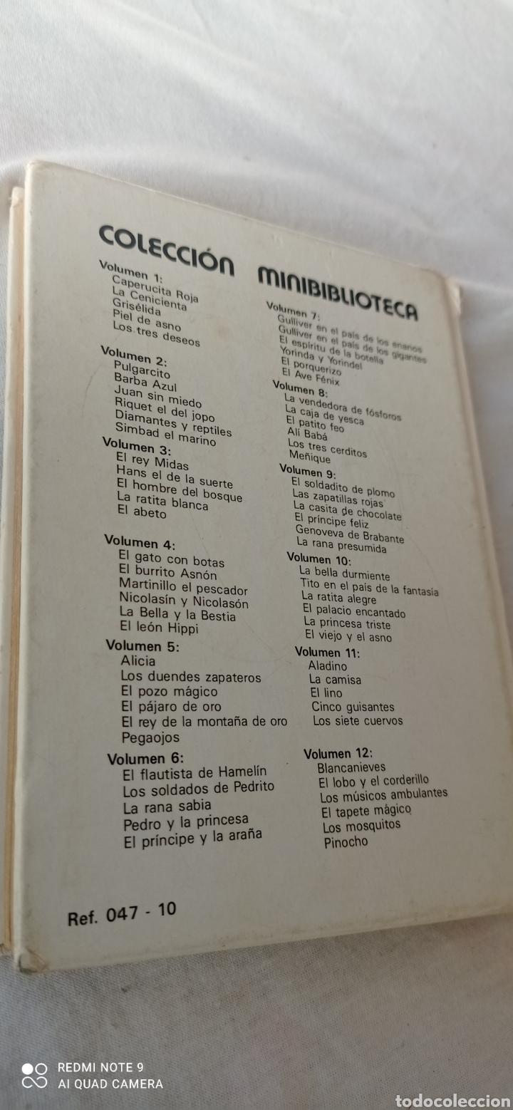 Libros: LA BELLA DURMIENTE N 10 SUSAETA. COLECCIÓN MINIBIBLIOTECA. - Foto 3 - 243842610