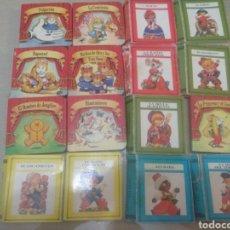Libros: LOTE CUENTOS POPULARES DE BOLSILLO. Lote 243983875