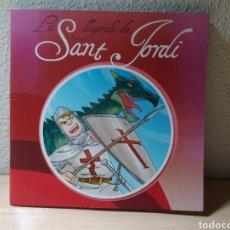 Libros: LA LLEGENDA DE SANT JORDI. CATALÁN. NUEVO. Lote 244462280