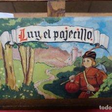 Libros: ILDE GIR.LUY EL PAJECILLO. Lote 245413355