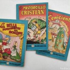 Libros: TRES LIBRITOS BRUGUERA. Lote 245428570