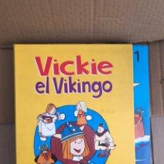 Libros: VIKIE EL VIKINGO COLECCION COMPLETA-RBA-35 CAP- CUENTOS ILUSTRADOS. Lote 245890880