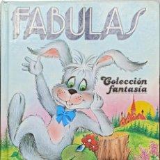 Libros: FÁBULAS, COLECCIÓN FANTASÍA - ED. GRAFALCO - 1987 - TAPA DURA - BUEN ESTADO. Lote 246916180