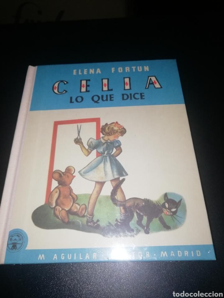 CELIA, LO QUE DICE. FORTÚN ELENA (Libros Nuevos - Literatura Infantil y Juvenil - Cuentos infantiles)