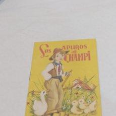 Libros: ANTIGUO CUENTO LOS APUROS DE CHAMPI 1960. Lote 253826435