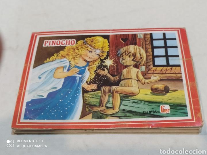 Libros: Antiguo cuento troquelado Pinocho - Foto 2 - 253842605