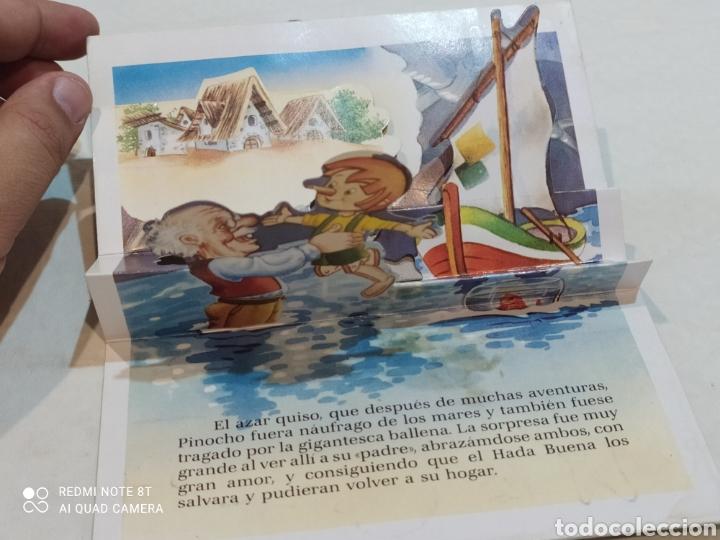Libros: Antiguo cuento troquelado Pinocho - Foto 3 - 253842605