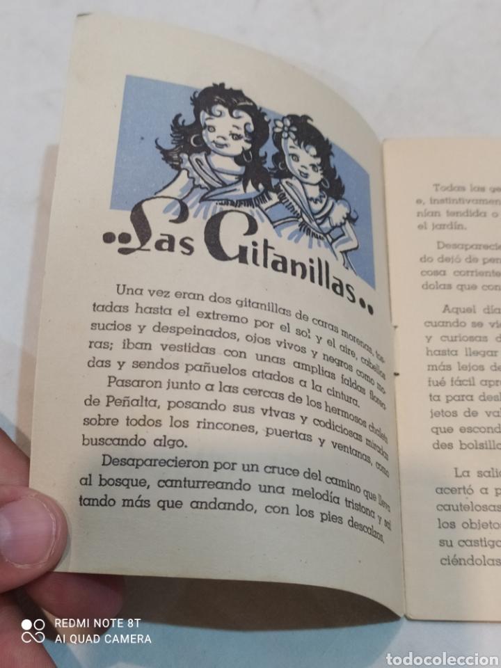 Libros: Antiguo cuento las gitanillas - Foto 2 - 253849075