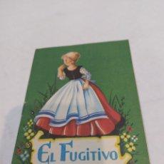 Libros: ANTIGUO CUENTO EL FUGITIVO. Lote 253850275