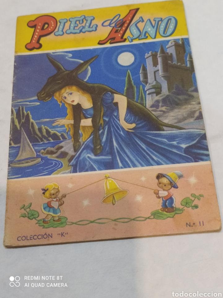 ANTIGUO CUENTO PIEL DE ASNO 1957 (Libros Nuevos - Literatura Infantil y Juvenil - Cuentos infantiles)
