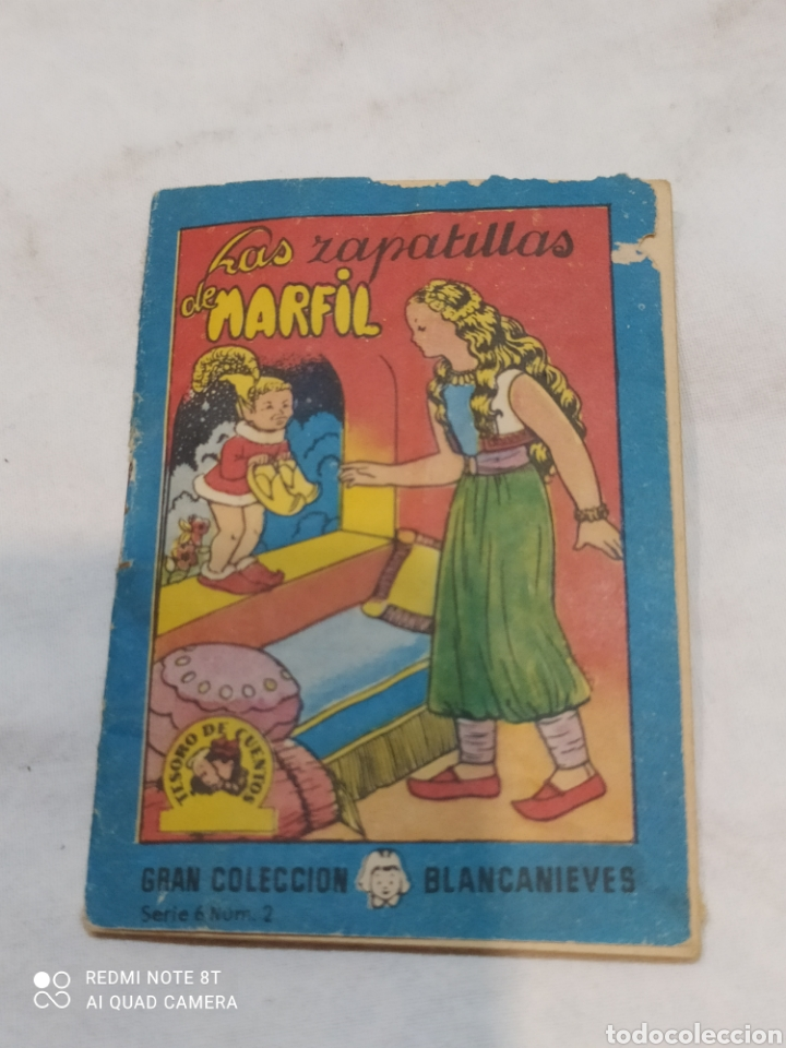 PEQUEÑO CUENTO LAS ZAPATILLAS DE MARFIL 1963 (Libros Nuevos - Literatura Infantil y Juvenil - Cuentos infantiles)