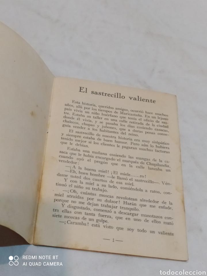 Libros: Antiguo cuento el sastrecillo valiente - Foto 2 - 253862795