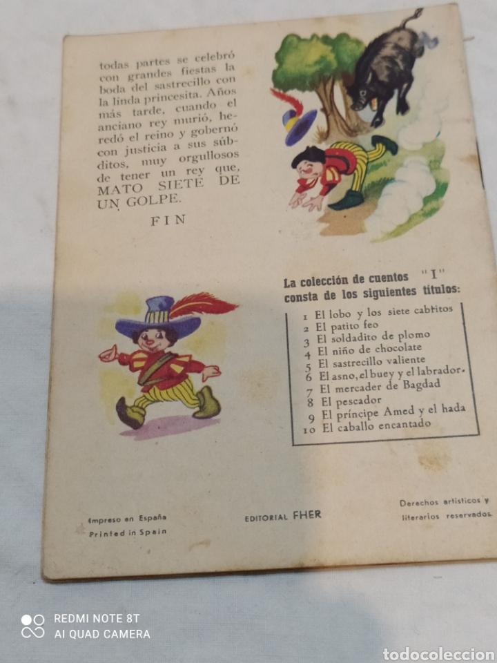 Libros: Antiguo cuento el sastrecillo valiente - Foto 3 - 253862795