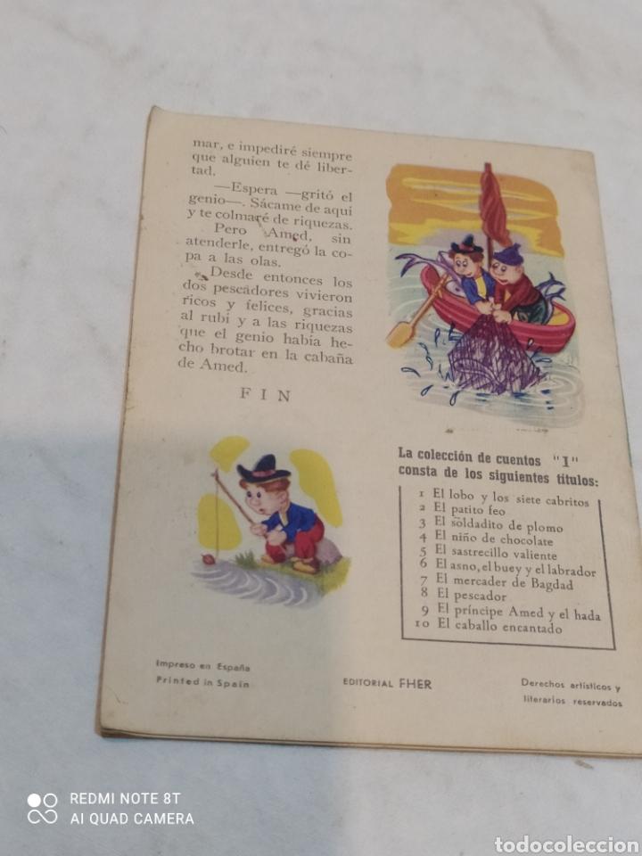 Libros: Antiguo cuento el pescador - Foto 3 - 253863125