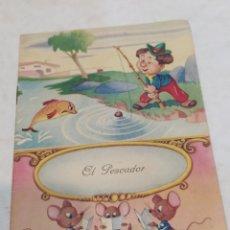Libros: ANTIGUO CUENTO EL PESCADOR. Lote 253863125