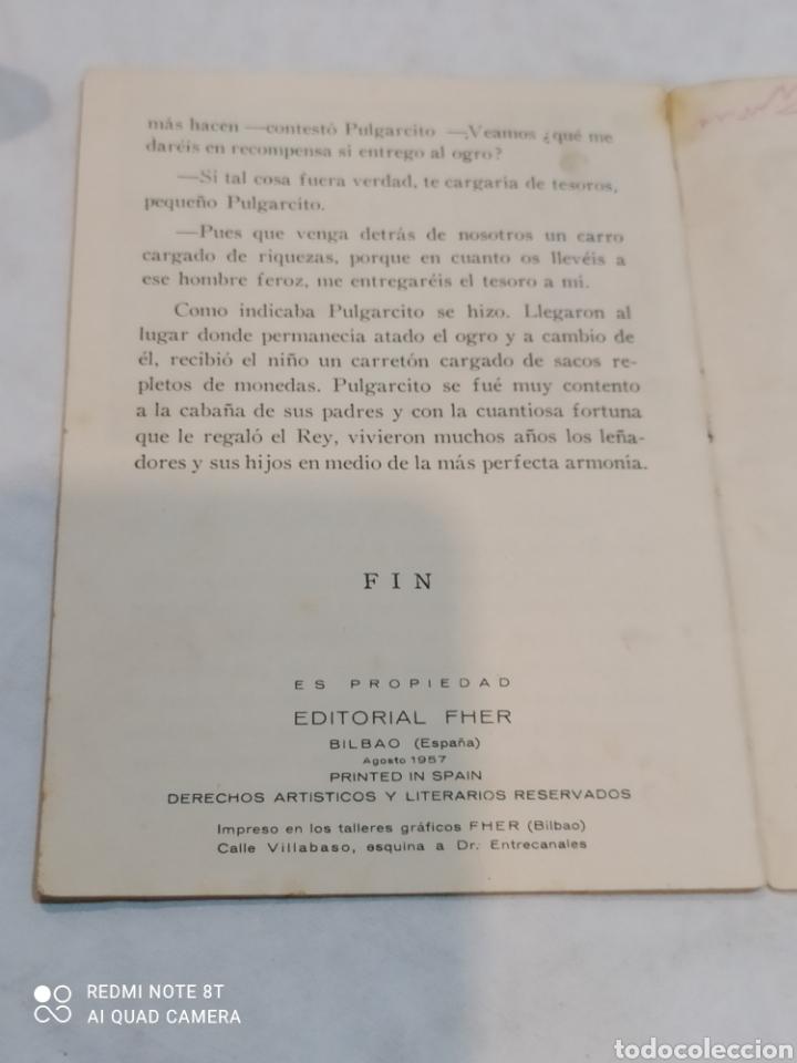 Libros: Antiguo cuento Pulgarcito 1957 - Foto 3 - 253863760