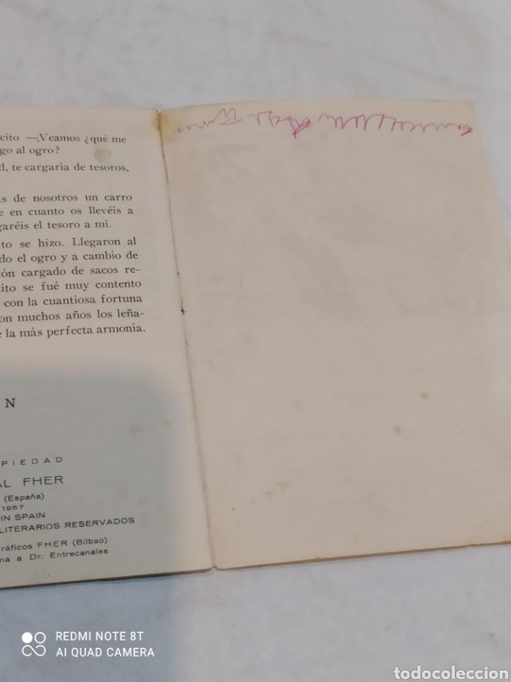 Libros: Antiguo cuento Pulgarcito 1957 - Foto 4 - 253863760