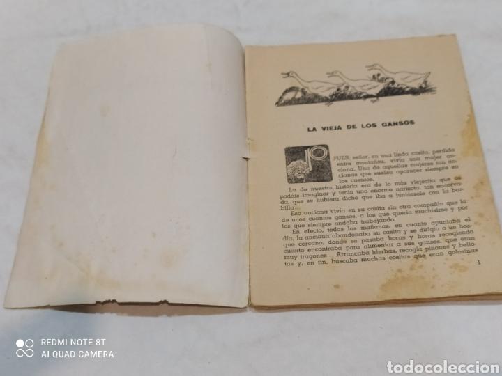 Libros: Antiguo cuento la vieja de los gansos 1959 - Foto 3 - 253865315