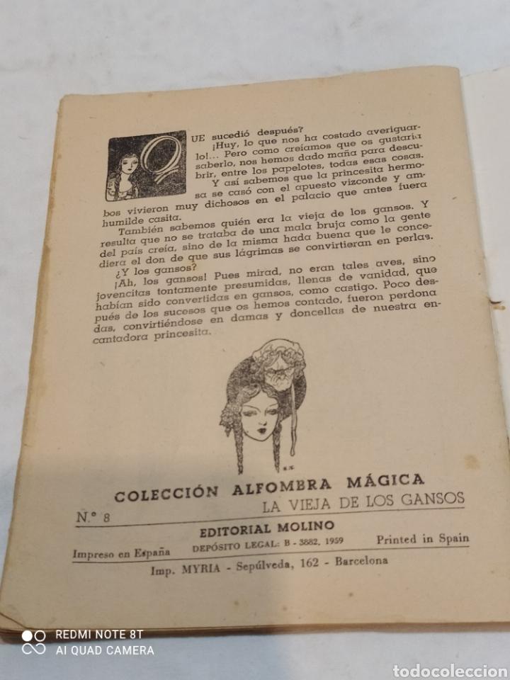 Libros: Antiguo cuento la vieja de los gansos 1959 - Foto 4 - 253865315