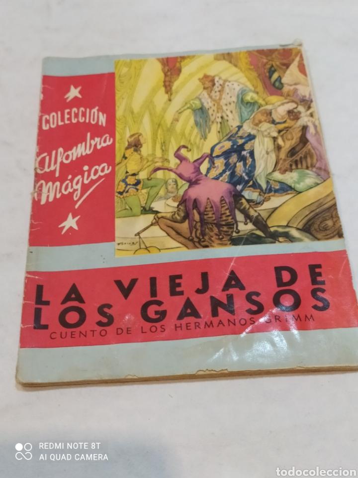 ANTIGUO CUENTO LA VIEJA DE LOS GANSOS 1959 (Libros Nuevos - Literatura Infantil y Juvenil - Cuentos infantiles)