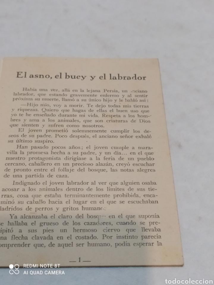 Libros: Antiguo cuento el asno el buey y el Labrador 1957 - Foto 3 - 253866725