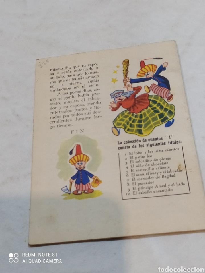 Libros: Antiguo cuento el asno el buey y el Labrador 1957 - Foto 4 - 253866725
