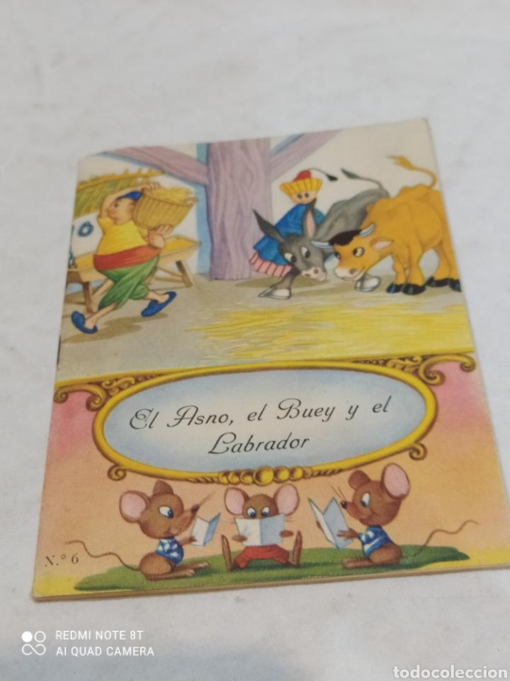ANTIGUO CUENTO EL ASNO EL BUEY Y EL LABRADOR 1957 (Libros Nuevos - Literatura Infantil y Juvenil - Cuentos infantiles)