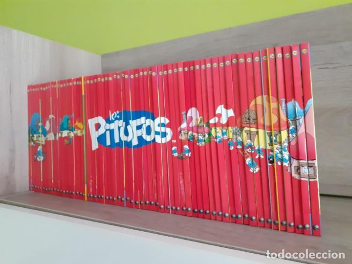 """Libros: Colección completa de libros y figuras de """"Los Pitufos, un mundo de profesiones"""" - Foto 2 - 253957750"""